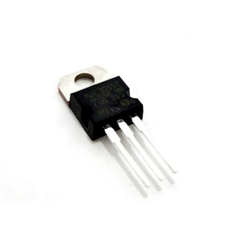 transistor npn hfe transistor bipolar mje3055t npn 10 a 60 v hfe 5 to 220 3 pine gt electronica gt semiconductores