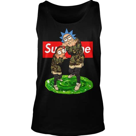 Supreme Top Ori supreme rick and morty hoodie and sweater