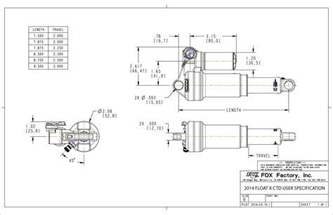 float ctd boost valve rebuild bike help center fox 2014 2015 float x ctd user specification drawing bike