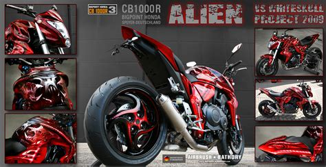 Motorrad Verkleidung Airbrush by Airbrush Bathory Speyer The 1000 Faces Of Cb1000r