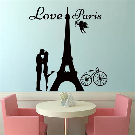 home decor paris theme wall decal beautiful paris themed wall decals paris
