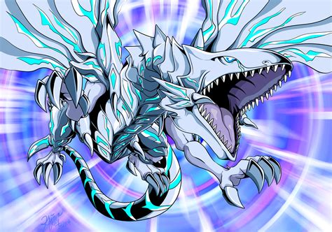 blue eyes alternative white dragon fanart zerochan
