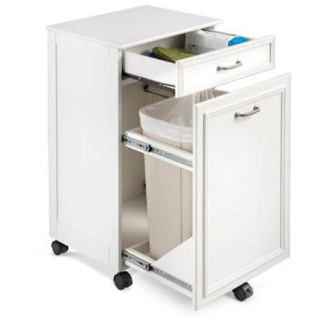 Can Cell Cabinets by Mobile Trash Hide A Way Cabinet Decorating