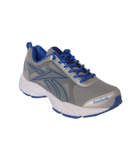 reebok comfort shoes reebok amazing grey blue comfortable sport shoes price in