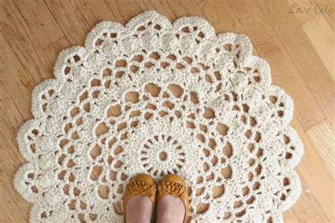 doily rug pattern rugs ideas
