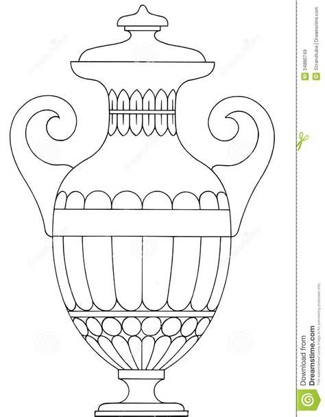 Vase Illustration by Royalty Free Stock Images Vase Image 34880749