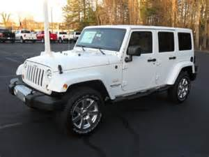 Jeep Wrangler Unlimited White For Sale New 2012 Jeep Wrangler Unlimited 4x4 For Sale
