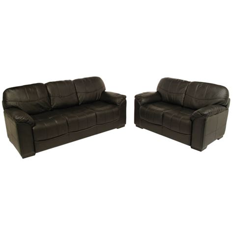 Black Leather Sofa Set Price 3 2 Seater Black Leather Sofa Set