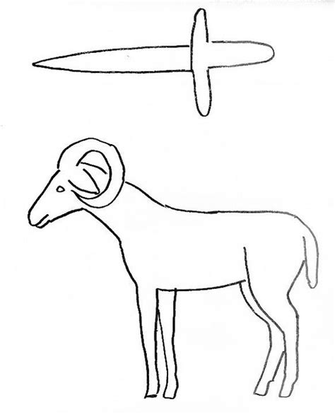 abraham sheep coloring page bible craft for abraham and isaac preschool church stuff