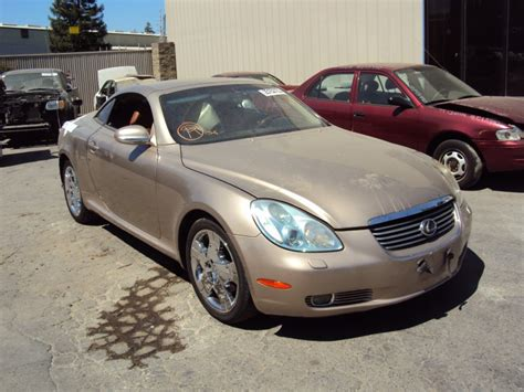 lexus coupe 2004 2005 lexus sc 430 model coupe 4 3l v6 at color gold z13495