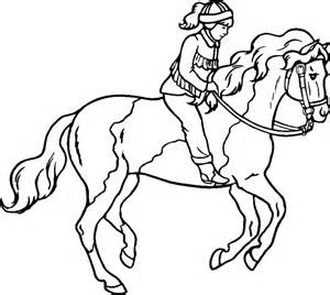 coloring pictures of horses jumping horses coloring page az coloring pages