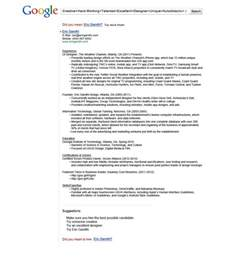 Resume Format Google 15 Most Creative Resumes For 2015
