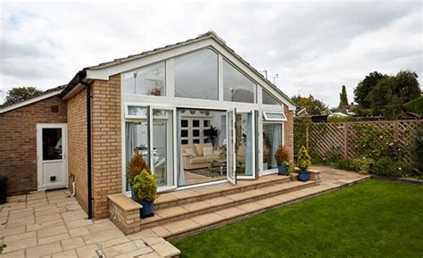 gabled conservatory extension kitchen extensions housetohome co uk extensions gallery anglian home