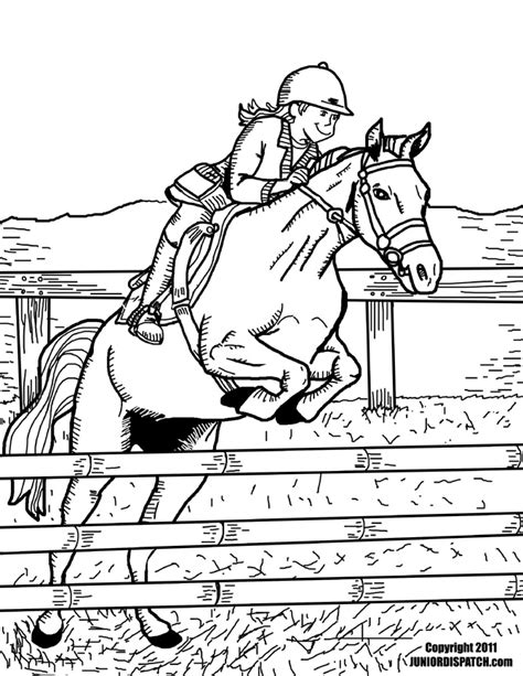 coloring pages of horse riding horse riding coloring pages download and print for free