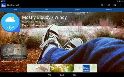 the weather channel app for android tablet weather apps for android phones and tablets product reviews net