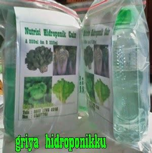 Nutrisi Hidroponik Ab Mix Cair griya hidroponikku nutrisi hidroponik cair