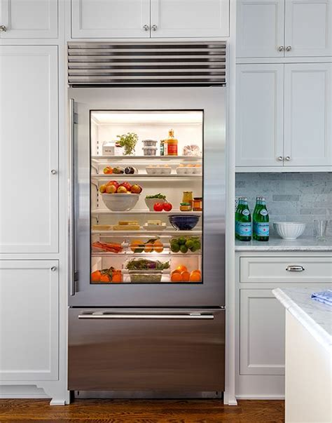 Refrigerator With Clear Front Door Best 20 Viking Refrigerator Ideas On Viking Appliances Glass Front Refrigerator