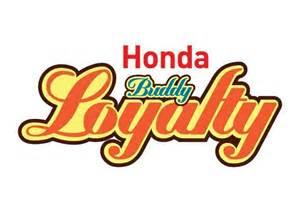 Honda Loyalty Program Honda Buddy Loyalty Program Woos Their Bike Customers