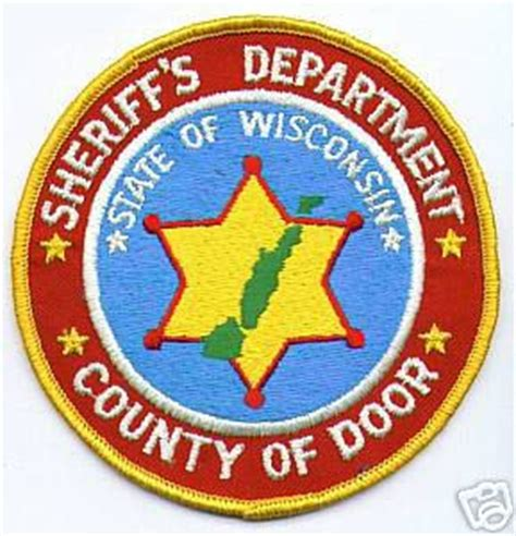 Door County Sheriff by Wisconsin Door County Sheriff S Department Wisconsin Patchgallery Patch