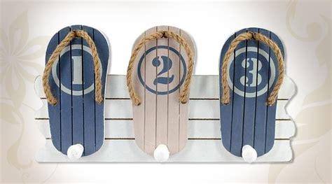 Aux Porte De La Deco by Petit Portemanteaux D 233 Coratif En Bois Th 232 Me D 233 Co Bord De Mer