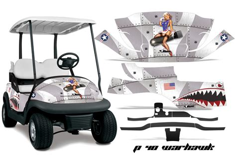 golf cart wrap template club car precedent golf cart graphics 2008 2013 wrap kits