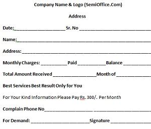 tv cable bill sample free download