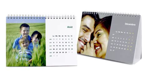 calendrier sur le bureau calendriers bureau a5 tictacphoto