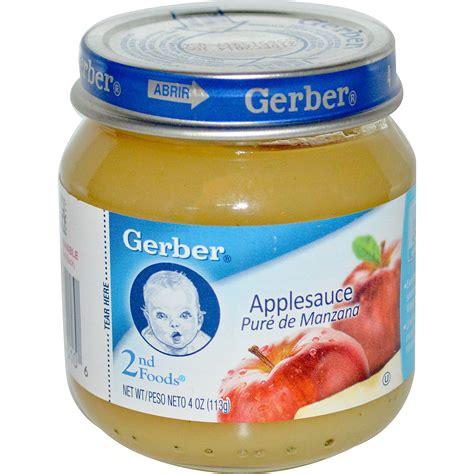 gerber cim gerber 2nd foods applesauce 4 oz 113 g iherb