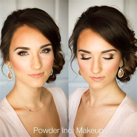 Wedding Hair And Makeup For Bridesmaids by 17 Best Ideas About Wedding Makeup On