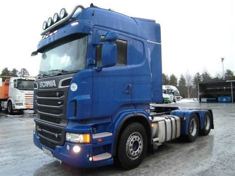scania r560 6x4 tractor unit from finland for sale at