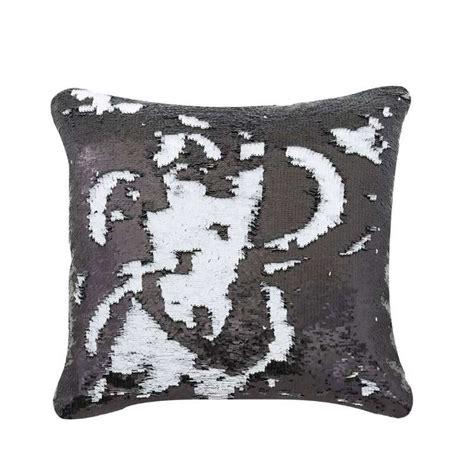 black cusions black white sequin cushion donna kristian interiors