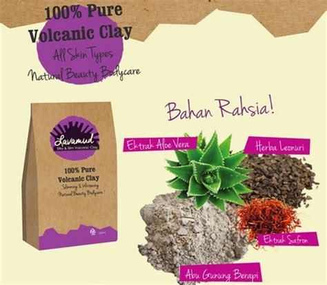 Harga The Shop Volcanic Clay lavamud murah kurus slimming roziez shop