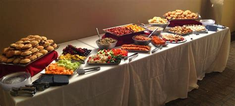 what is a buffet table best 25 buffet set up ideas on catering table
