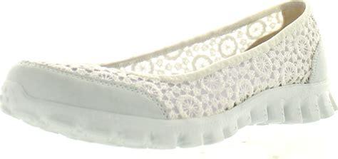 skechers flats shoes skechers womens ez flex flighty slip on flats shoes ebay