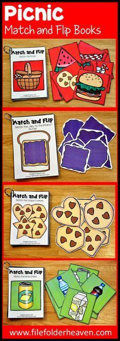 themes in the book matched these matching activities picnic match and flip books