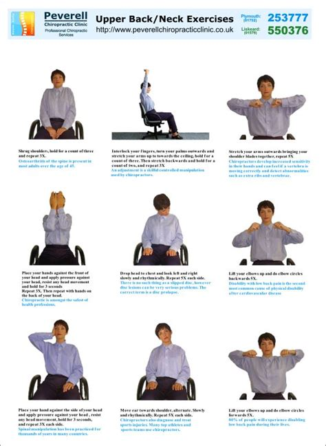 neck and back exercises health nut