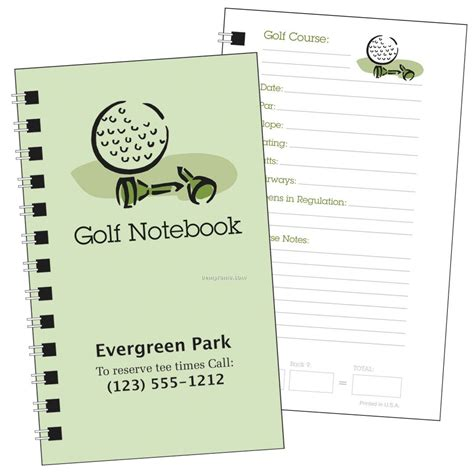 Notebooks China Wholesale Notebooks Page 73 Golf Notebook Template