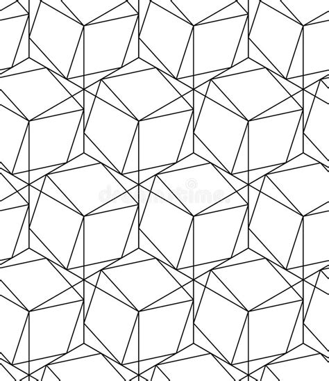 line pattern vector illustrator black and white geometric seamless pattern with line and