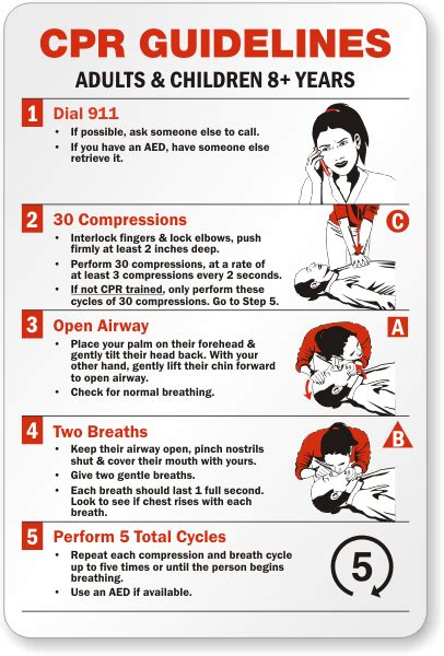printable cpr instructions printable cpr steps