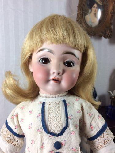 german bisque doll worth antique german slip dolls doll bisque wool teddy