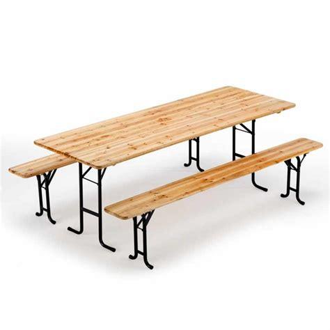 tavoli per feste set tavolo e panche in legno per sagre feste giardino