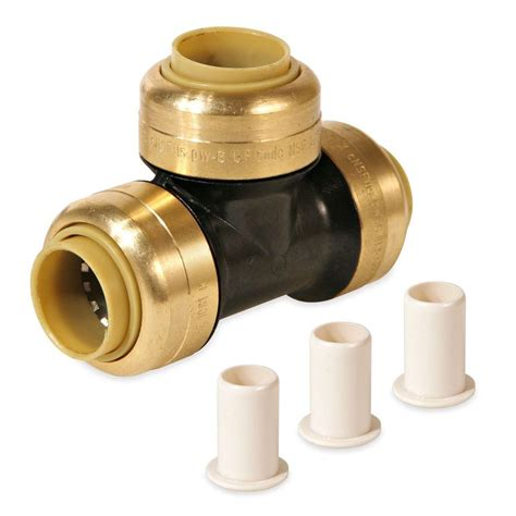 Push Connect Plumbing Fittings by Kbi 1 In Polysulfone Cts Glueless Connect Push