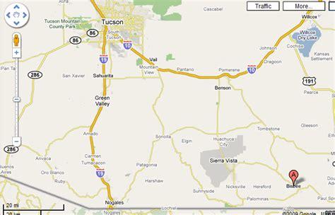 bisbee az map map of bisbee arizona 100 images maps foothills h o g