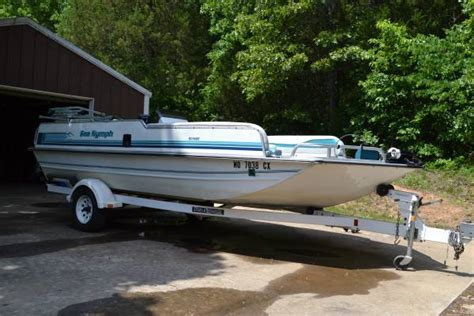 deck boats for sale in greenville sc deck boat 1993 sea nymph 19ft 7500 greenville mo