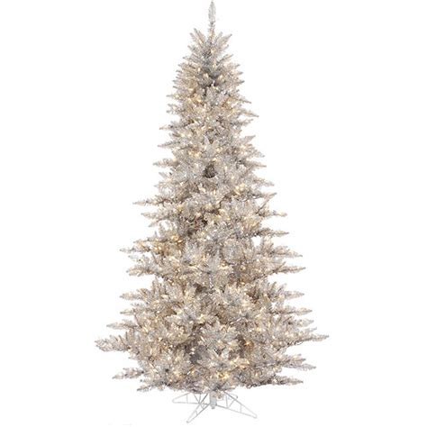 pre lit 3 x 25 quot fir tree artificial christmas tree