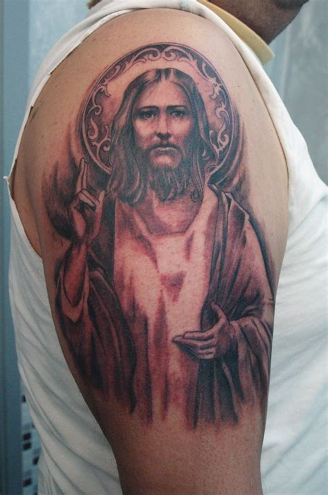tattoo pictures jesus mens tattoos 187 christian tattoos for men
