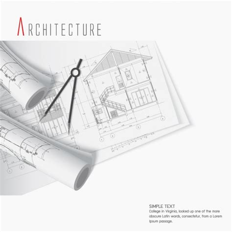 architecture layout vector architecture background design vector free download