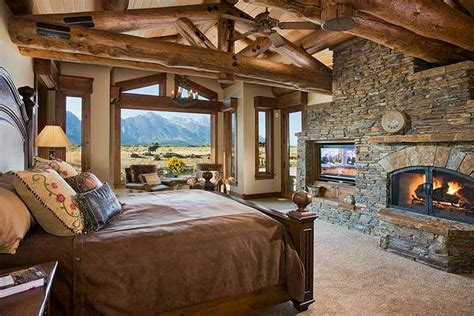 master bedroom rustic style for the home
