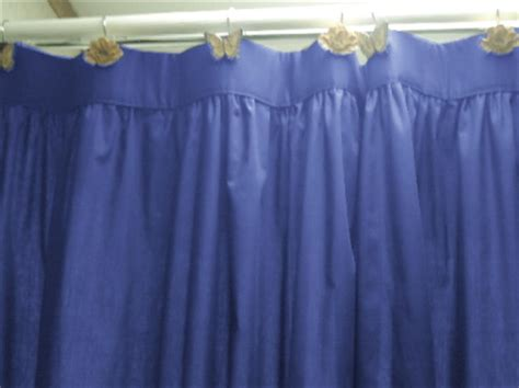 Royal Blue Bathroom Window Curtains Solid Royal Blue Colored Swag Window Valance Optional