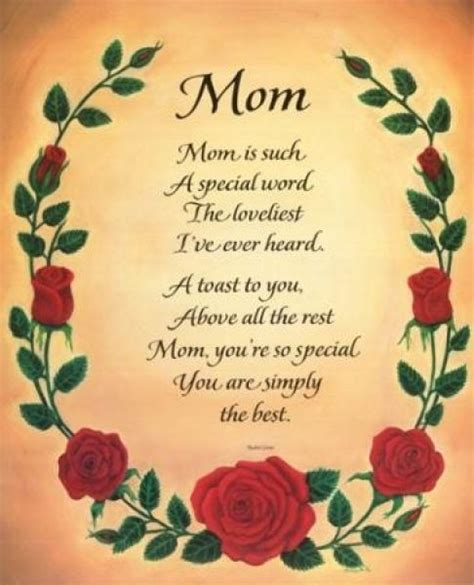 quotes and poems about mothers quotesgram